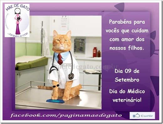 MDG dia do veterinário